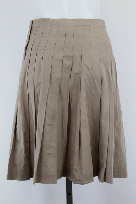 Lanvin Pleated Skirt Tan Image 2