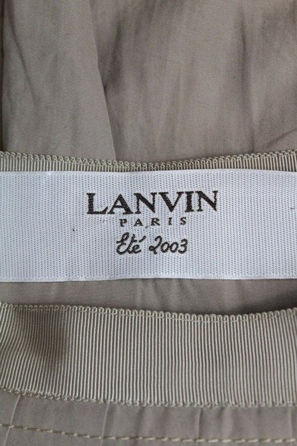 Lanvin Pleated Skirt Tan Image 3