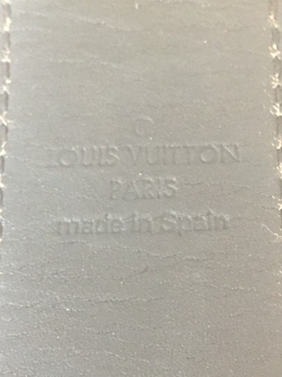 Louis Vuitton LOUIS VUITTON 46419 MONOGRAM CANVAS LV CUT REVERSIBLE BELT SZ 85/34 Image 6