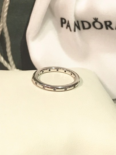 PANDORA Nwot Pandora droplets sterling silver ring Image 8