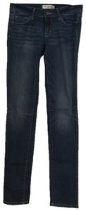 Bullhead Black Skinny Jeans-Medium Wash