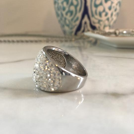 Frost Sterling Silver Ring: White Crystal Image 5