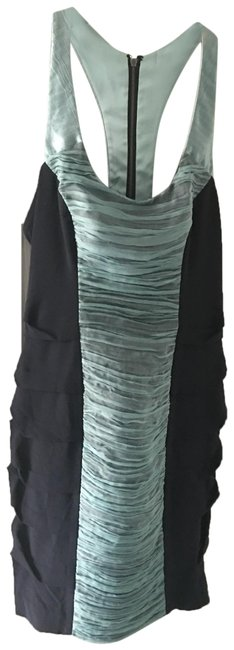 Preload https://img-static.tradesy.com/item/25193485/nicole-miller-black-and-aqua-pre-owned-party-short-night-out-dress-size-6-s-0-1-650-650.jpg