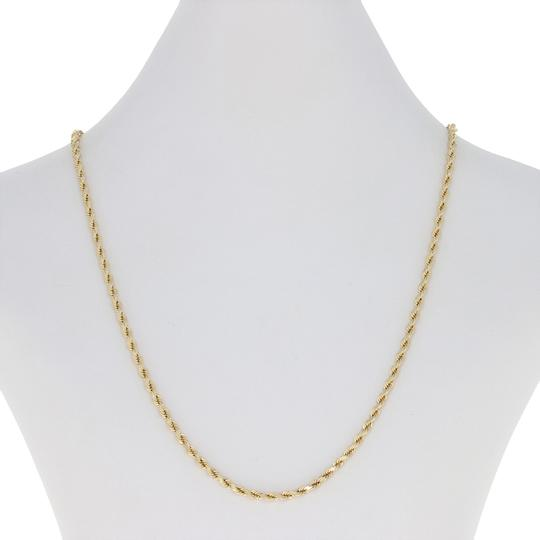 Preload https://img-static.tradesy.com/item/25193550/yellow-gold-rope-chain-18-14k-lobster-claw-clasp-e2939-necklace-0-1-540-540.jpg