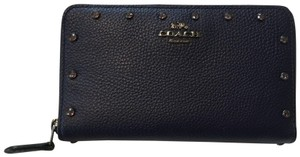 Coach 1941 crystal beaded medium zip wallet