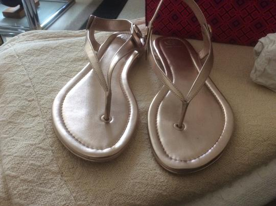 Tory Burch ***Reduced 8/5*** Rose Gold Sandals Image 1