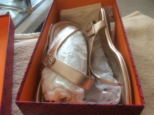 Tory Burch ***Reduced 8/5*** Rose Gold Sandals Image 3