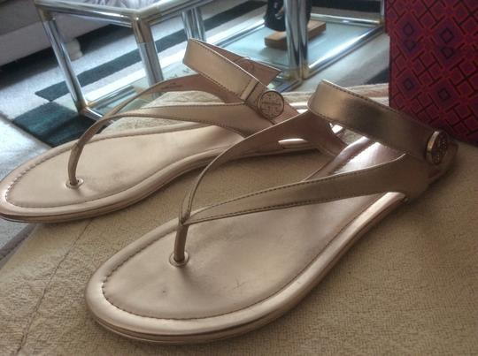 Tory Burch ***Reduced 8/5*** Rose Gold Sandals Image 4