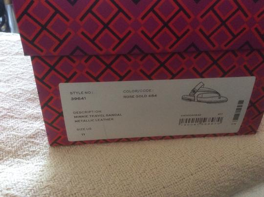 Tory Burch ***Reduced 8/5*** Rose Gold Sandals Image 6