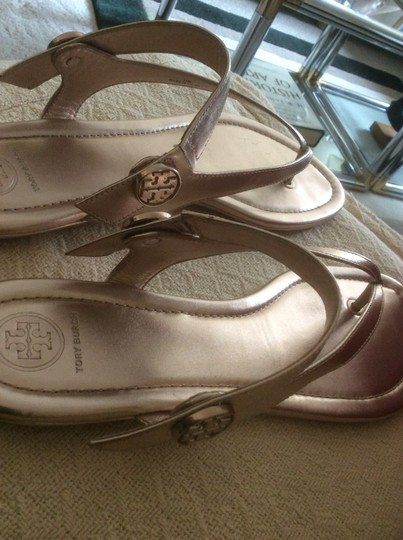 Tory Burch ***Reduced 8/5*** Rose Gold Sandals Image 7