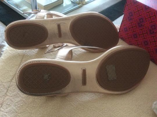 Tory Burch ***Reduced 8/5*** Rose Gold Sandals Image 9