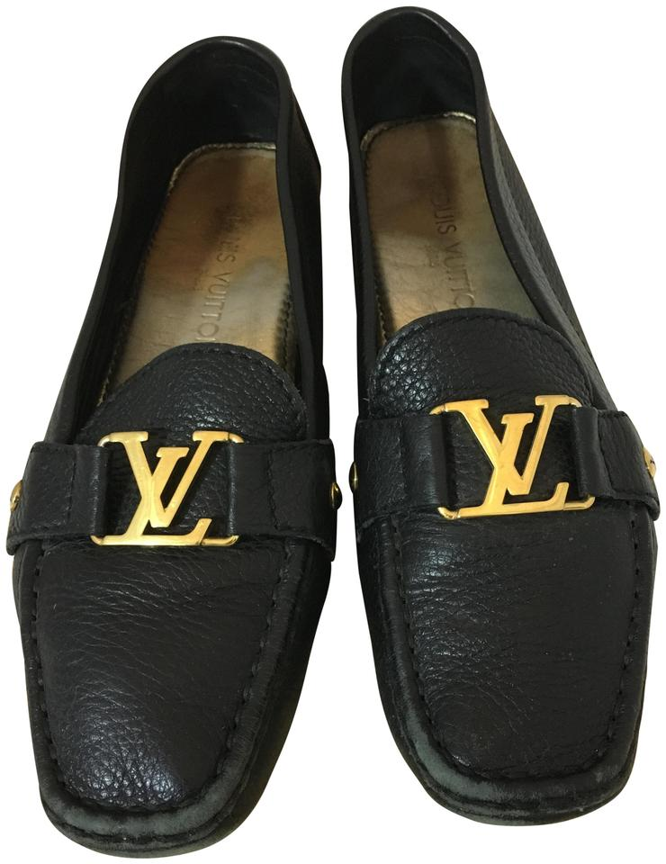 8060db01db2 Louis Vuitton Lv Loafers Lv Driving Loafers Driving Loafers Chanel Black  Flats Image 0 ...