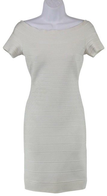 Preload https://img-static.tradesy.com/item/25193730/herve-leger-white-knit-bodycon-short-sleeve-small-mid-length-night-out-dress-size-4-s-0-1-650-650.jpg