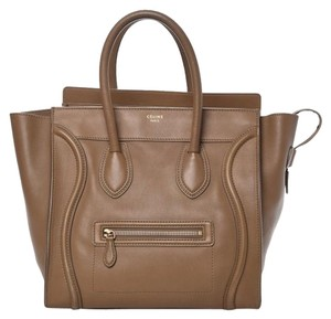 Céline Neverfull Mini Luggage Louis Vuitton Tote in Brown