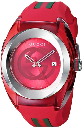 Preload https://img-static.tradesy.com/item/25193801/gucci-red-sync-xxl-silicone-strap-ya137103-watch-0-1-540-540.jpg