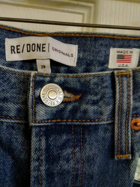 RE/DONE Flare Leg Jeans-Dark Rinse Image 2