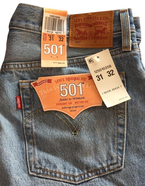 Preload https://img-static.tradesy.com/item/25193839/levi-s-light-distressed-levi-501-straight-leg-jeans-size-10-m-31-0-1-650-650.jpg