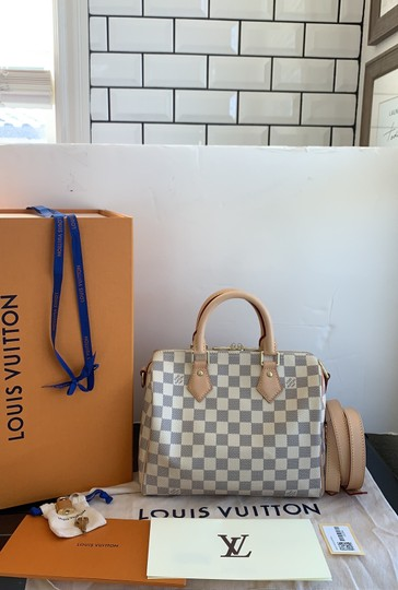 Louis Vuitton Satchel in damier azur Image 1