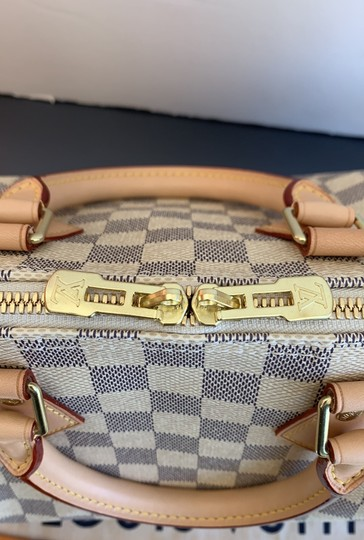 Louis Vuitton Satchel in damier azur Image 3