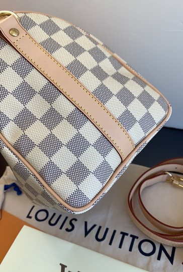 Louis Vuitton Satchel in damier azur Image 4
