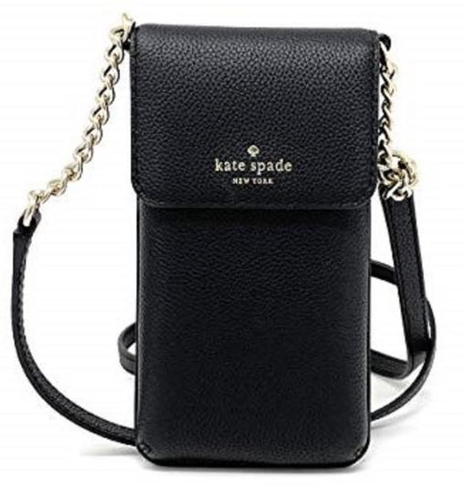 Preload https://img-static.tradesy.com/item/25193854/kate-spade-north-south-phone-black-cross-body-bag-0-0-540-540.jpg
