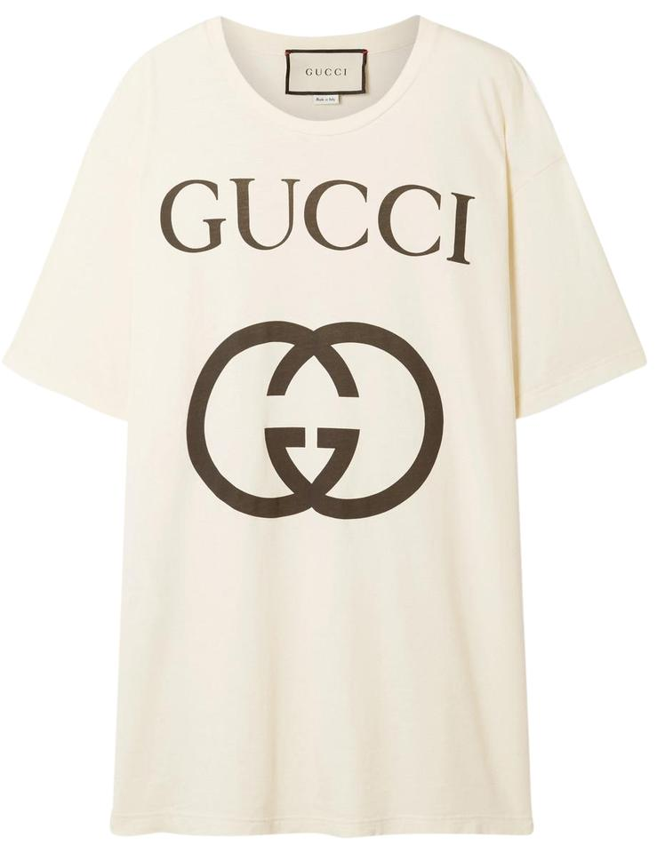 c943deef3af Gucci Printed Cotton-jersey T-shirt Tee Shirt Size 2 (XS) - Tradesy