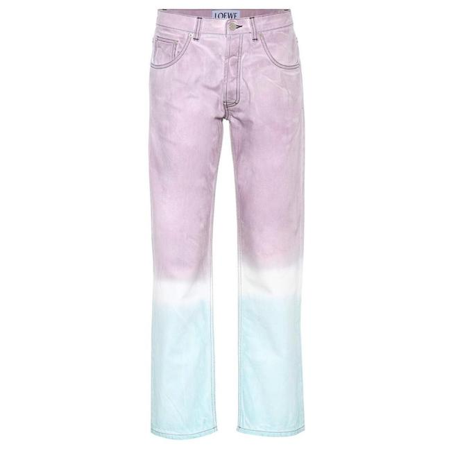 Preload https://img-static.tradesy.com/item/25194384/loewe-pink-ombre-straight-leg-jeans-pants-size-8-m-29-30-0-0-650-650.jpg