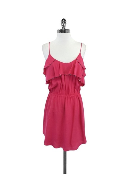 Preload https://img-static.tradesy.com/item/25194429/rebecca-taylor-pink-short-casual-dress-size-6-s-0-0-650-650.jpg