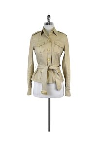 Ralph Lauren Gold Linen Tan Jacket
