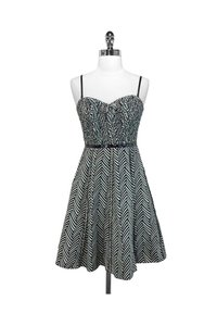 Frock! By Tracy Reese short dress black Silk Sweetheart Ruched Top on Tradesy