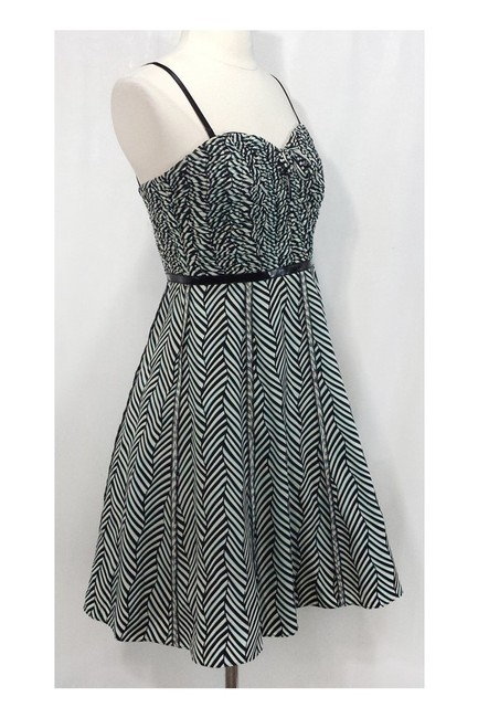 Frock! By Tracy Reese short dress black Silk Sweetheart Ruched Top on Tradesy Image 1