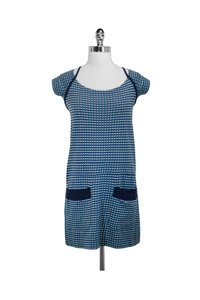 Marc by Marc Jacobs short dress blue Teal And Navy Cotton on Tradesy