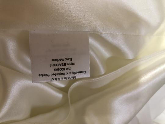 Katie May Ivory Twist Mykonos Front Crepe De Chine Mermaid Gown Modern Wedding Dress Size 8 (M) Image 11
