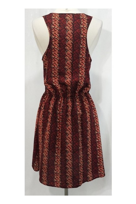 Patterson J. Kincaid short dress red Brown Elastic Waist on Tradesy Image 2