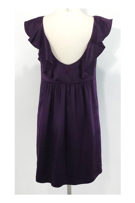 Julie Haus short dress purple Silk on Tradesy Image 2