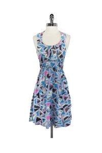 Marc by Marc Jacobs short dress blue Abstract Print Elastic Waist on Tradesy