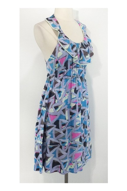 Marc by Marc Jacobs short dress blue Abstract Print Elastic Waist on Tradesy Image 1