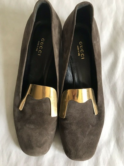Gucci Brown Flats Image 7