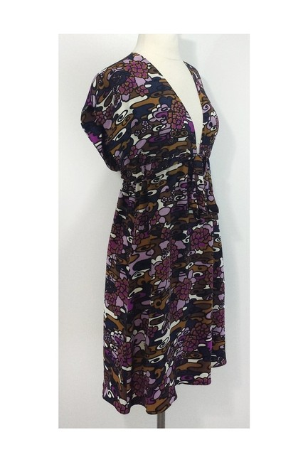 Alice & Trixie short dress purple Deep V Neck Silk on Tradesy Image 1
