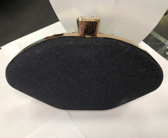 Crystal Collection Evening Rhinestone Black and AB crystal Clutch Image 1