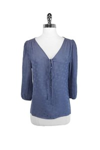 Marc by Marc Jacobs Periwinkle 3/4 Sleeve Top blue