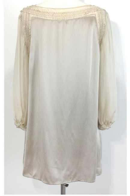 Philosophy Champagne Silk Button Top Image 2