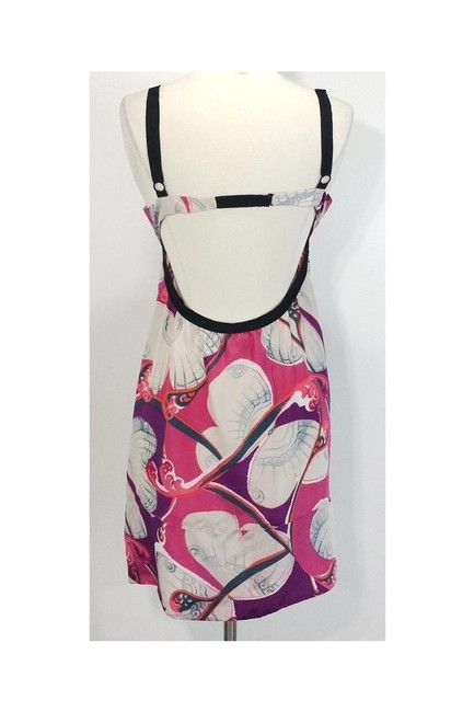 Marni short dress pink Silk Abstract on Tradesy Image 2