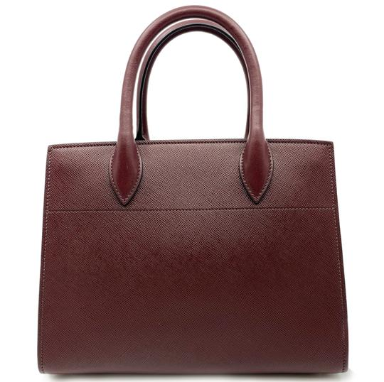 Prada Satchel in Red Image 5