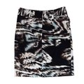 Etcetera Blue Abstract Print Skirt brown Image 1