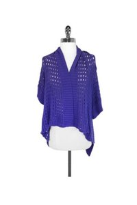 Anna Sui Cotton Open Knit Cardigan