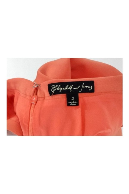 Elizabeth and James Sorbet Fit Flare Skirt orange Image 1