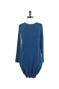 Alexander McQueen short dress blue Bubble Back Mini on Tradesy