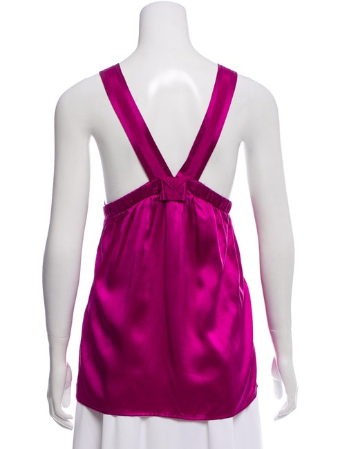 See by Chloé Top Fuchsia Image 1