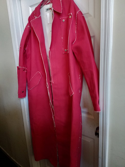 Off-White Trench Coat Image 1